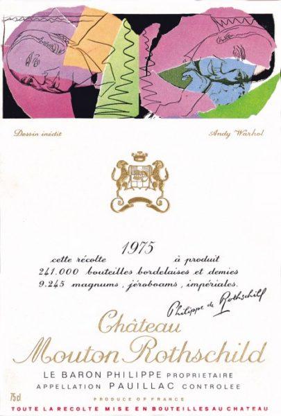 Chateau Mouton-Rothschild Andy Warhol