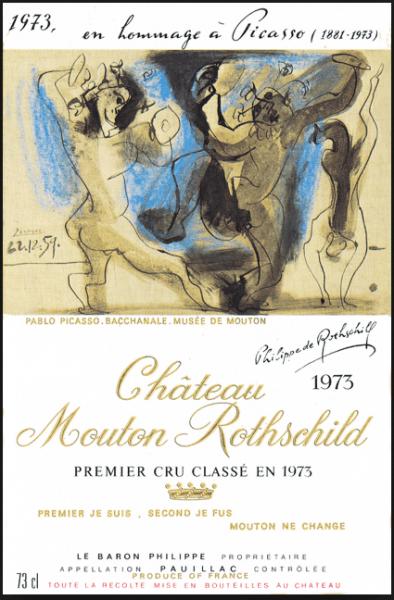 Chateau Mouton-Rothschild Pablo Picasso