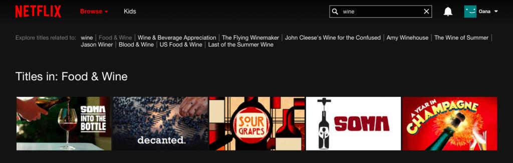Netflix vin