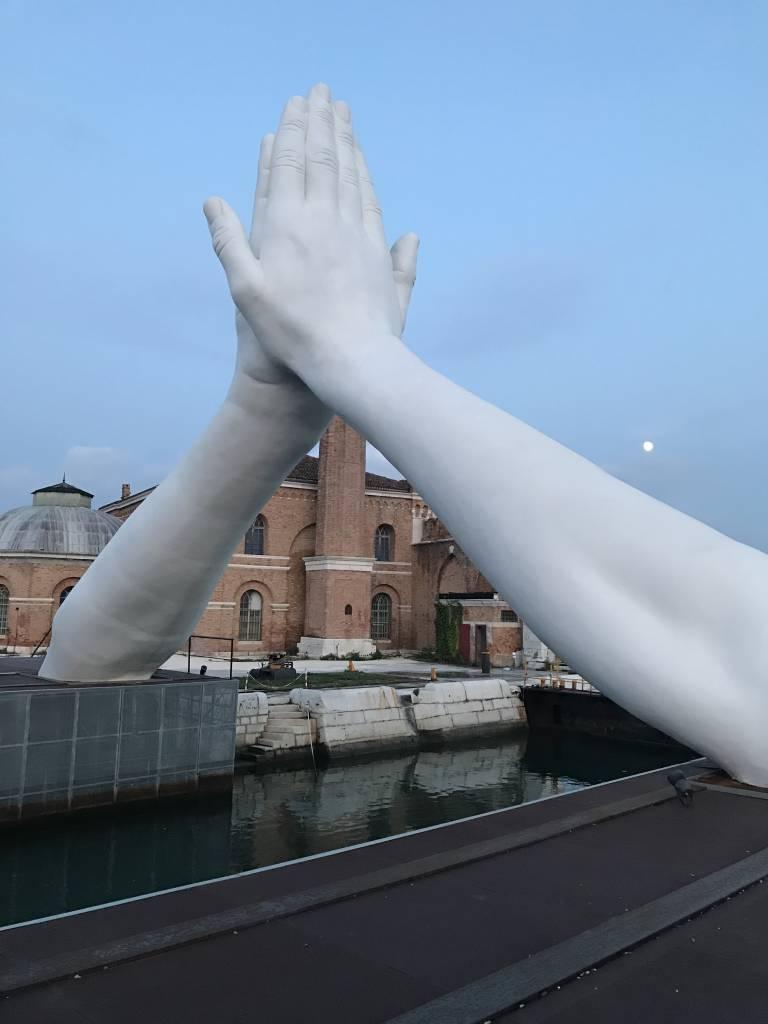 Building bridges Venice Biennale